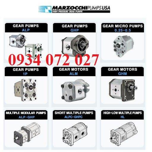 Nhà phân phối bơm thủy lực Marzocchi6