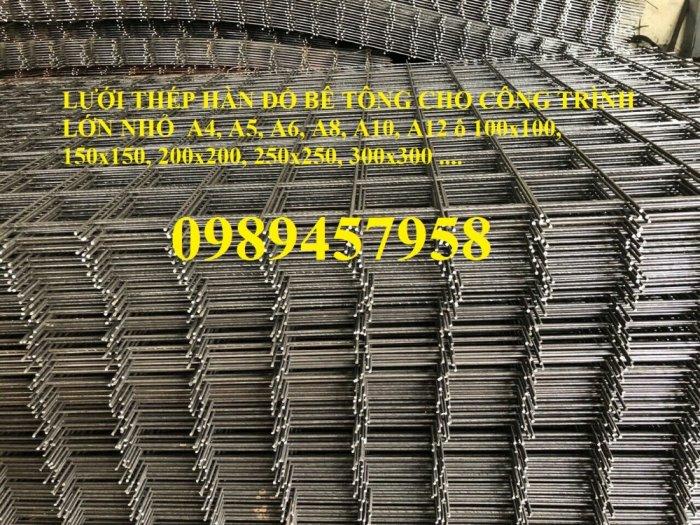 Báo giá lưới thép hàn phi 8 200x200 - Lưới hàn chập phi 8 150x150 giá mới8