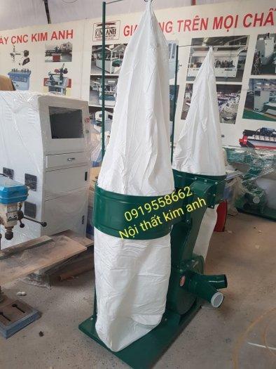 Máy hút bụi 2 túi vải công nghiệp 3kw,5,5kw giá rẻ dành cho xưởng gỗ bình dương4