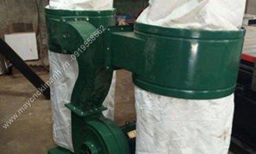 Máy hút bụi 2 túi vải công nghiệp 3kw,5,5kw giá rẻ dành cho xưởng gỗ bình dương2