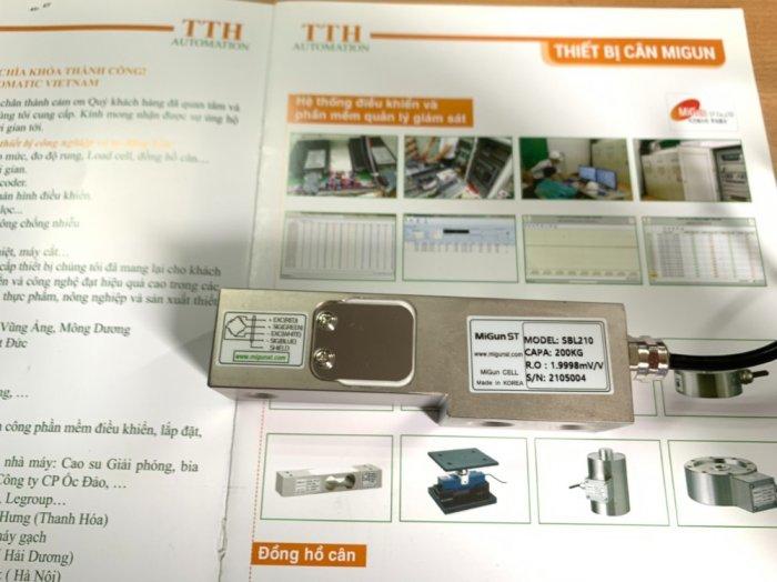 SBL210 - Loadcell thanh chuyên dùng cho cân bồn, cân đóng bao, cân băng tải...Sản xuất 100% tại Hàn Quốc0