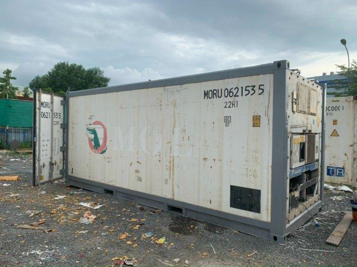 Container lạnh 20feet bảo quản thịt đông lạnh0