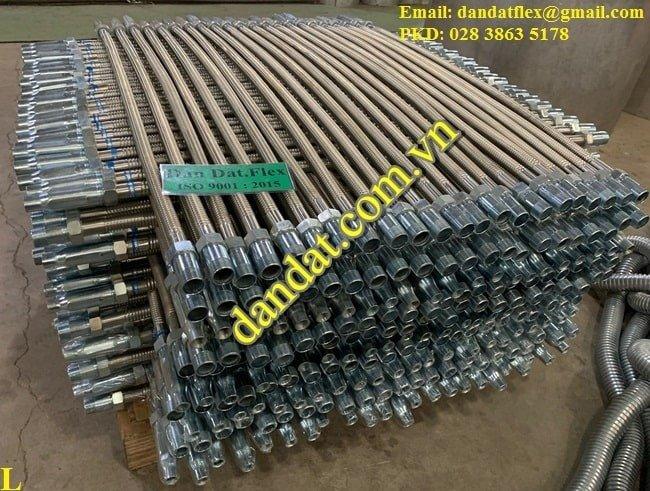 Báo giá ống mềm inox nối đầu phun sprinkler - Dandat.Flex Việt Nam1