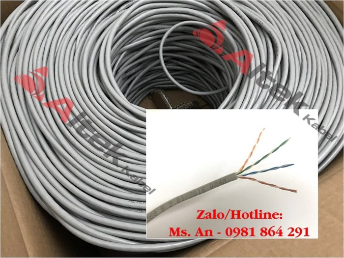 Cáp mạng UTP (lõi CU 100% và CCA) / cáp mạng chống nhiễu FTP (lõi CU) Altek Kabel chính hãng2