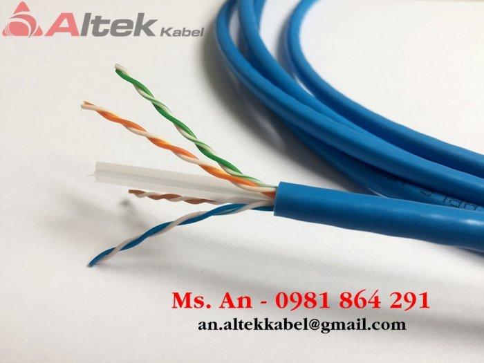 Cáp mạng UTP (lõi CU 100% và CCA) / cáp mạng chống nhiễu FTP (lõi CU) Altek Kabel chính hãng1