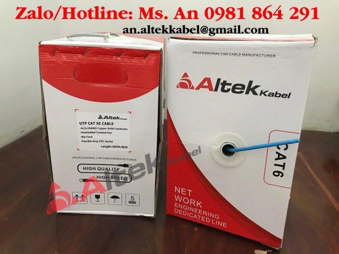 Cáp mạng UTP (lõi CU 100% và CCA) / cáp mạng chống nhiễu FTP (lõi CU) Altek Kabel chính hãng0