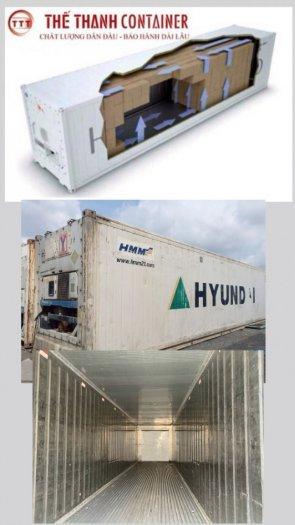 Container lạnh thanh lý làm kho lạnh tủ đông3