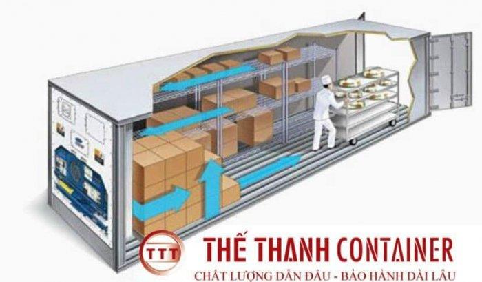Container lạnh thanh lý làm kho lạnh tủ đông2