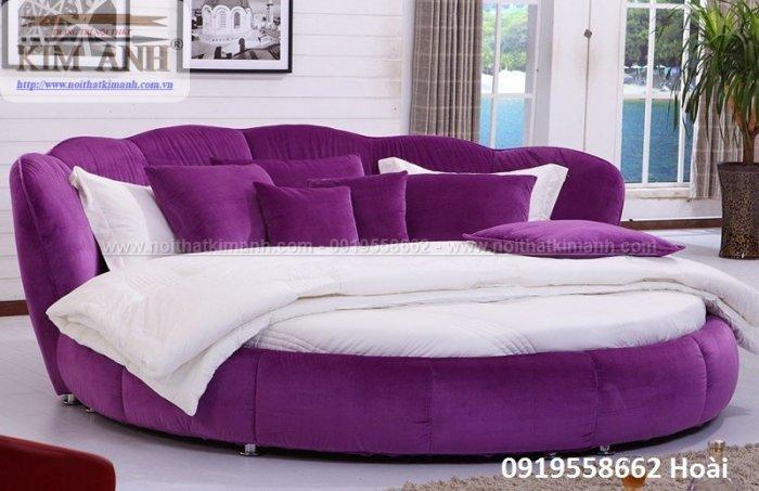 Mẫu giường tròn hiện đại, sang trọng được nhiều người ưu chuộng9