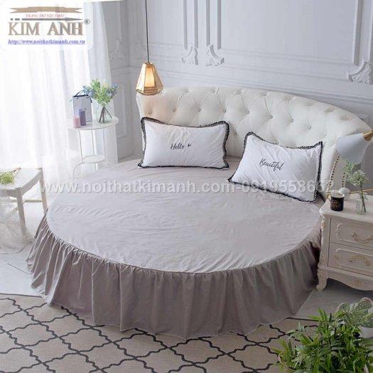 Mẫu giường tròn hiện đại, sang trọng được nhiều người ưu chuộng8