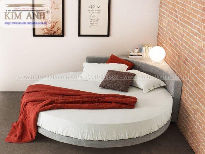 Mẫu giường tròn hiện đại, sang trọng được nhiều người ưu chuộng3
