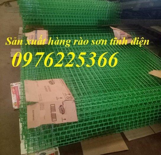 Hàng rào lưới thép phi 5 mắt 50x200, 50x150, 75x2001