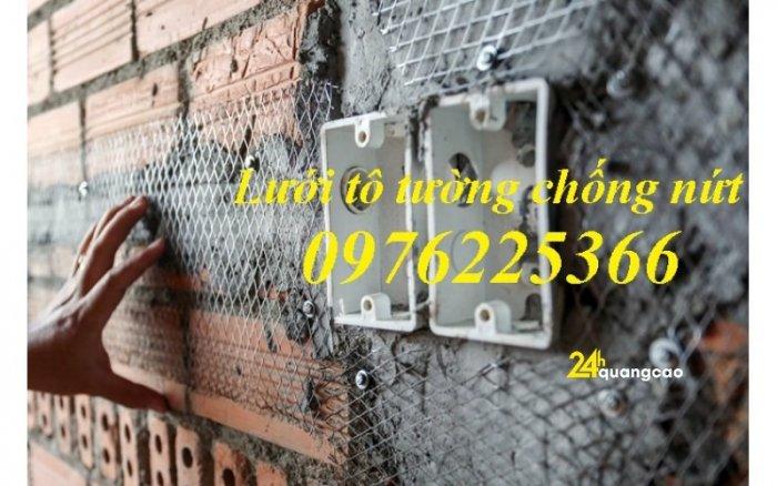 Lưới trám trát tường, lưới trát tường, lưới chống nứt, lưới mắt cáo 6x12, 10x209