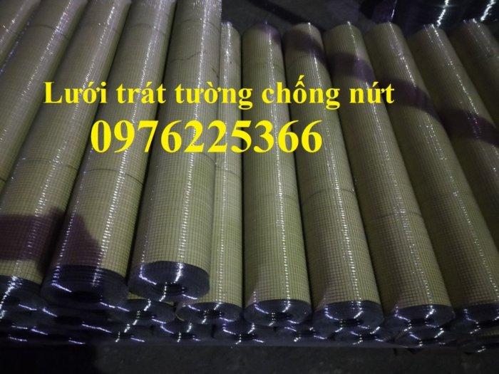 Lưới trám trát tường, lưới trát tường, lưới chống nứt, lưới mắt cáo 6x12, 10x201
