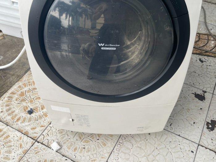 Máy giặt nội địa Panasonic NA-VR3600 giặt 9kg ,Sấy_Block 6kg9