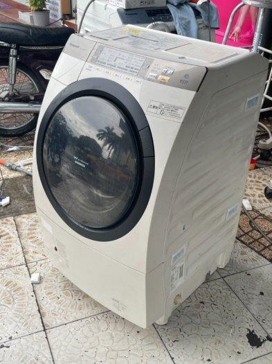 Máy giặt nội địa Panasonic NA-VR3600 giặt 9kg ,Sấy_Block 6kg7