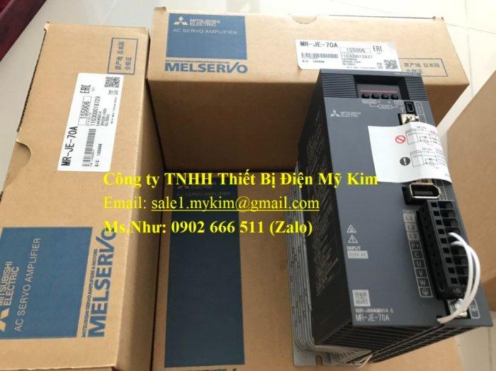 AC Servo Amplifier Mitsubishi MR-JE-70A chính hãng giá tốt1