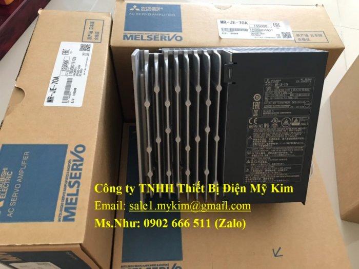 AC Servo Amplifier Mitsubishi MR-JE-70A chính hãng giá tốt0