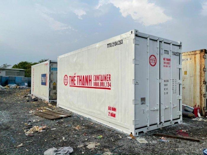 Container lạnh thùng lạnh mini1