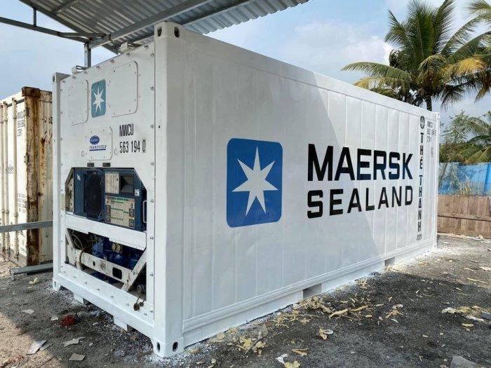 Container lạnh thùng lạnh mini0