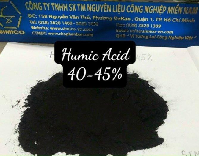 Acid humic 40-50%, hữu cơ 70%1