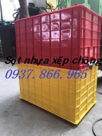 Bán thùng nhựa đặc có bánh xe( thùng nhựa cơ khí), thùng nhựa có bánh xe1