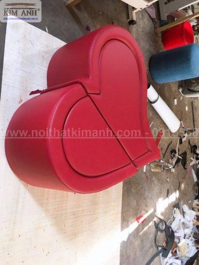 Ghế tình yêu ngụy trang hình trái tim độc đáo bằng gỗ làm tại xưởng sản xuất Bình Dương0