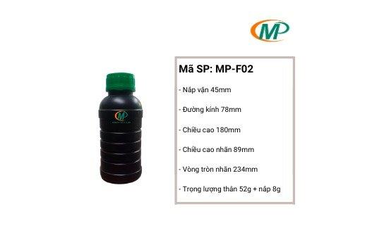 Chai nhựa thuốc trừ sâu, chai nhựa nông dược, chai nhựa giá rẻ5