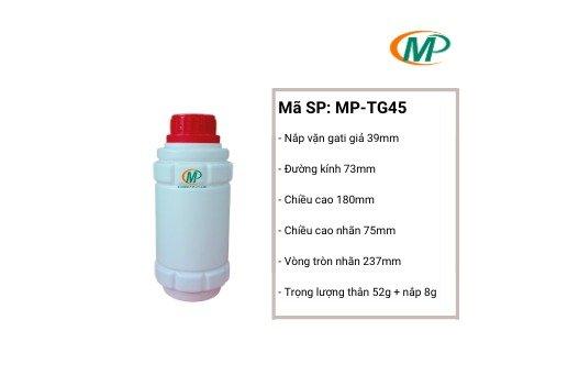 Chai nhựa thuốc trừ sâu, chai nhựa nông dược, chai nhựa giá rẻ2