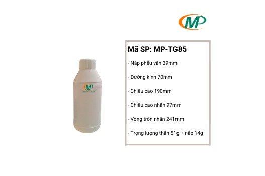 Chai nhựa thuốc trừ sâu, chai nhựa nông dược, chai nhựa giá rẻ1