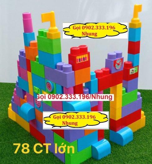 Bán xếp hình lego lớn, xếp hình khu vui chơi lớn5
