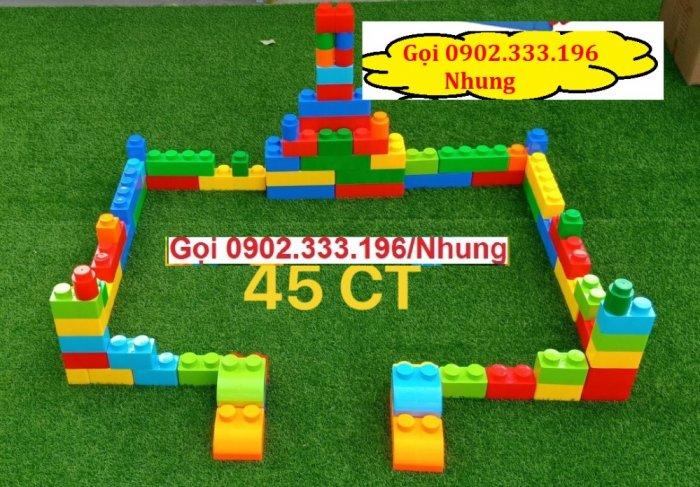 Bán xếp hình lego lớn, xếp hình khu vui chơi lớn4
