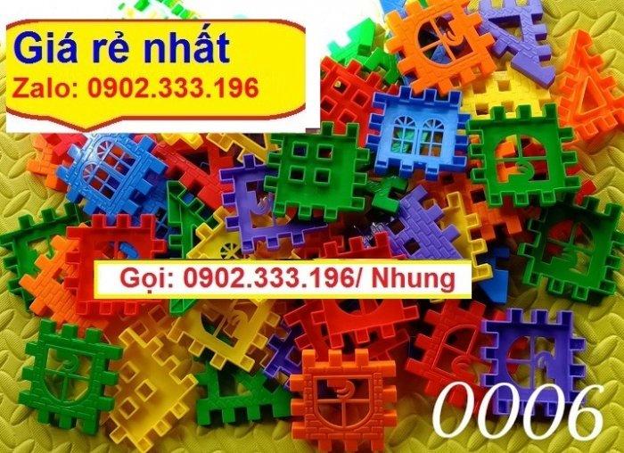 Bán xếp hình lego lớn, xếp hình khu vui chơi lớn3
