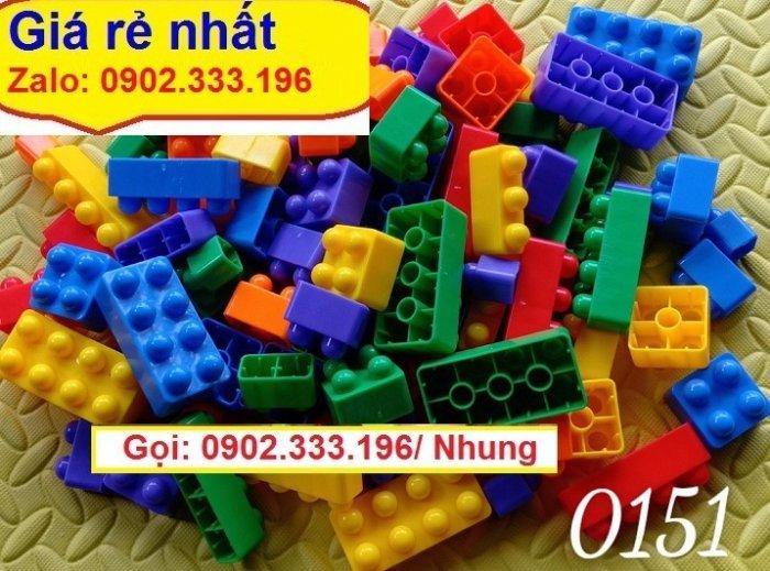 Bán xếp hình lego lớn, xếp hình khu vui chơi lớn2
