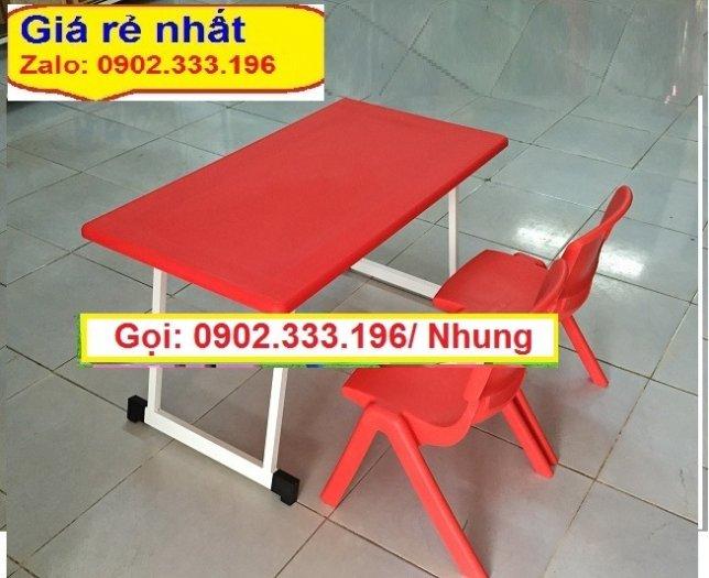 Chuyên bán sỉ bàn nhựa mầm non, bàn nhựa trẻ em, bàn nhựa trường mầm non3