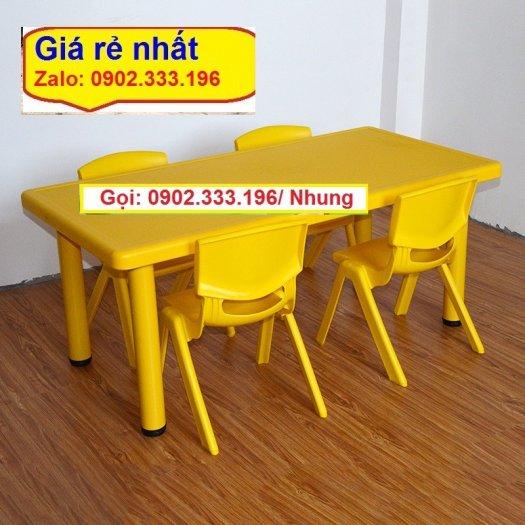 Chuyên bán sỉ bàn nhựa mầm non, bàn nhựa trẻ em, bàn nhựa trường mầm non2