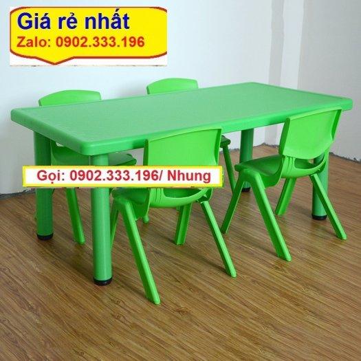 Chuyên bán sỉ bàn nhựa mầm non, bàn nhựa trẻ em, bàn nhựa trường mầm non1