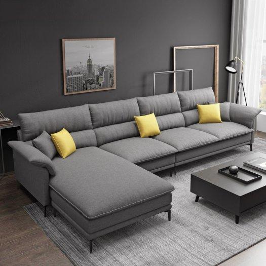 Sofa góc L cao cấp hiện đại cho phòng khách10