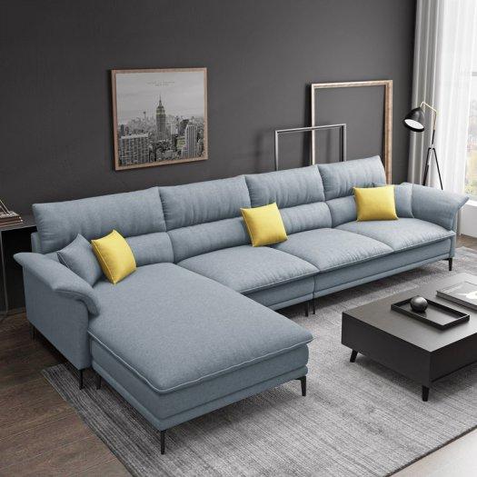 Sofa góc L cao cấp hiện đại cho phòng khách6