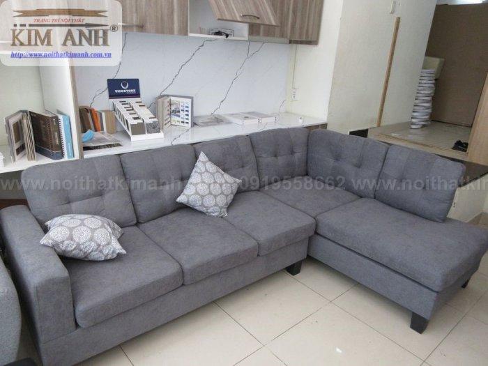 Sofa góc L cao cấp hiện đại cho phòng khách0