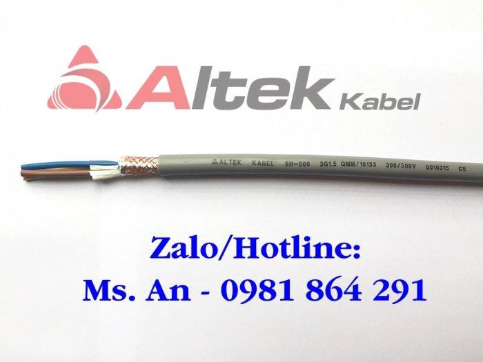 Chuyên phân phối cáp điều khiển 3 lõi – cáp Altek Kabel0