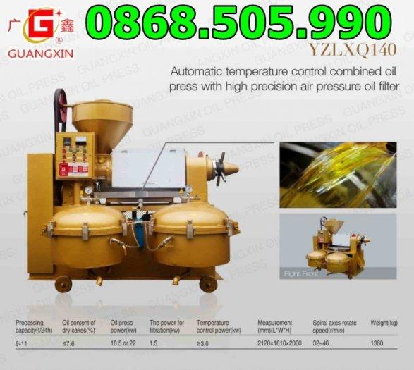 Máy ép dầu lạc công nghiệp Guangxin YZYX140WK,máy ép dầu công nghiệp giá rẻ tại Quảng Nam,Daklak0