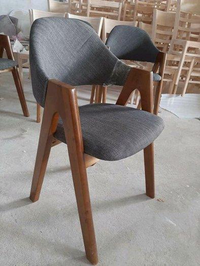 Ghế gỗ nhà hàng chữ A cao cấp giá rẻ1