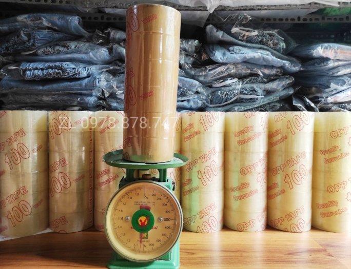 Băng Keo Trong Dán Thùng 100 Yard , 1Kg , 4.8cm4