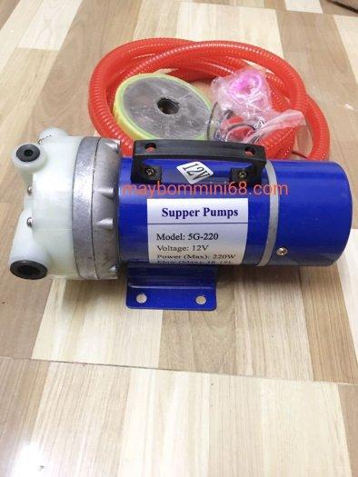 Máy bơm áp lực 12v công suất 220w0