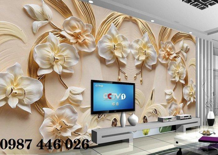 Tranh gạch men hoa 3d HP79007
