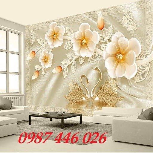 Tranh gạch men hoa 3d HP79003