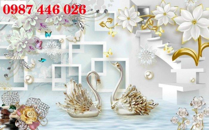 Tranh gạch men hoa 3d HP79002