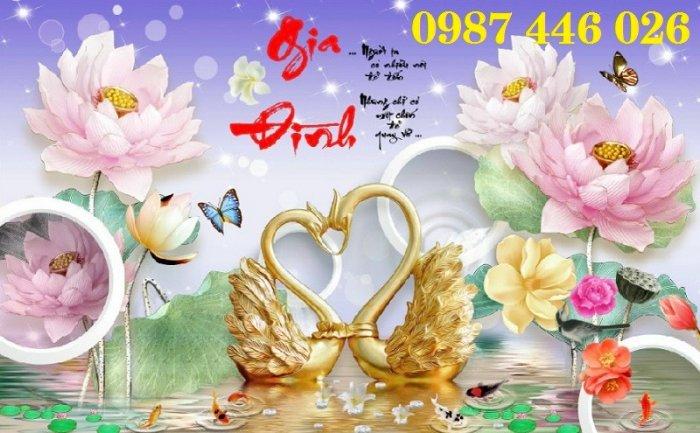 Tranh gạch men hoa 3d HP79001