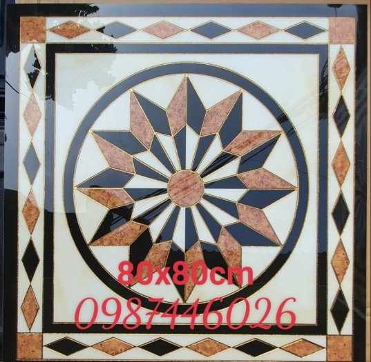 Gạch thảm chiếu nghỉ vuông 80x80cm HP6897